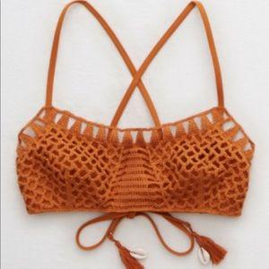 Aerie Crochet Bikini Top
